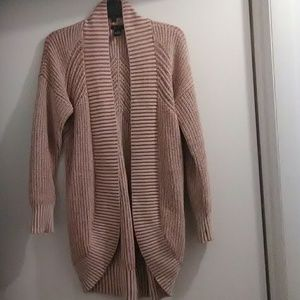 Free people style cotton Card Sweater thick